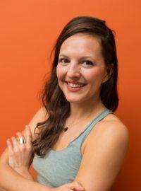 Headshot of Katie Facada, Yoga Teacher at Yogamaya