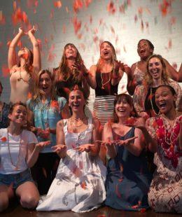 Yogamaya 200 hour yoga teacher training summer graduation class