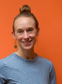 Headshot of Jess Parks-Kocher, Yoga Teacher at Yogamaya